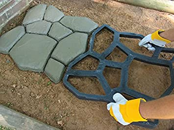 Diy Garden Concrete Paving Mold For Pavement Walkways For Garden Path Paving Mold Pathmate Shovel Furniture