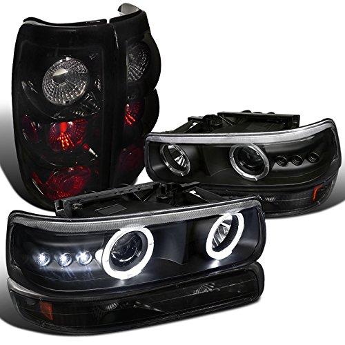 1999 silverado halo headlights - 6