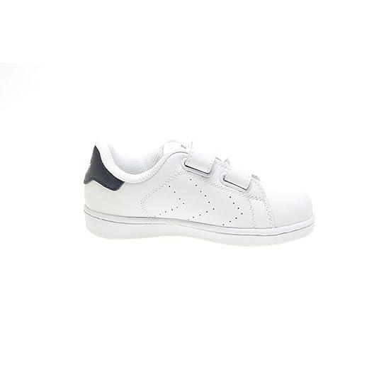 Zapatillas Paredes 62198B5 - Deportivo Piel Velcro Blanco mujer: Amazon.es: Zapatos y complementos
