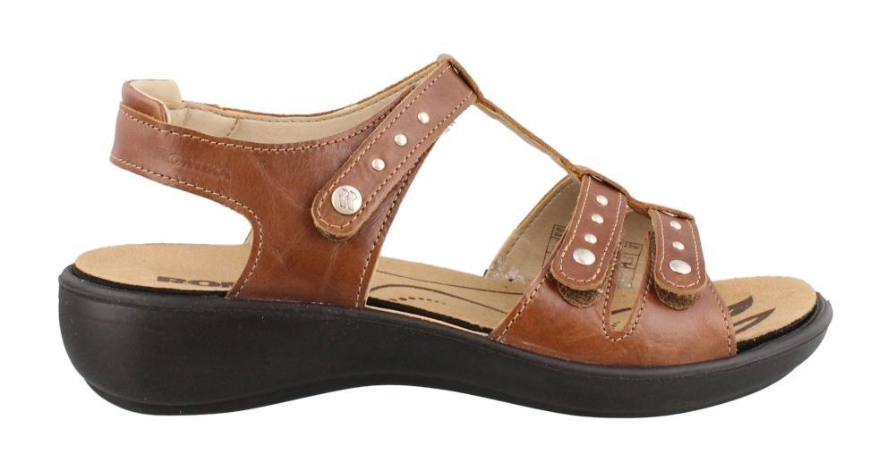 Romika Women's, Ibiza 76 Sandals B01KY78RYE 36 M EU / 5-5.5 B(M) US|Brandy
