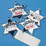 Metal Sheriff Badges (12 ct) (12 per package) by FE