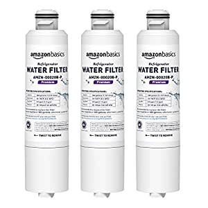 AmazonBasics Replacement Samsung DA29-00020B Refrigerator Water Filter - Premium Filtration - 3-Pack