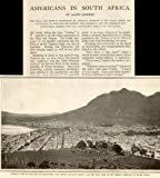 Best Image Books On South Africas - 1900 Book Print Image with 5-pg Article on Review