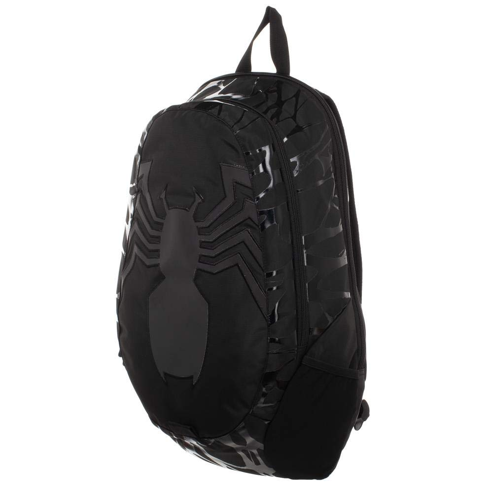 1b9a162f63ad26 Venom Spider Symbol Marvel Comics Laptop Backpack Bag | eBay