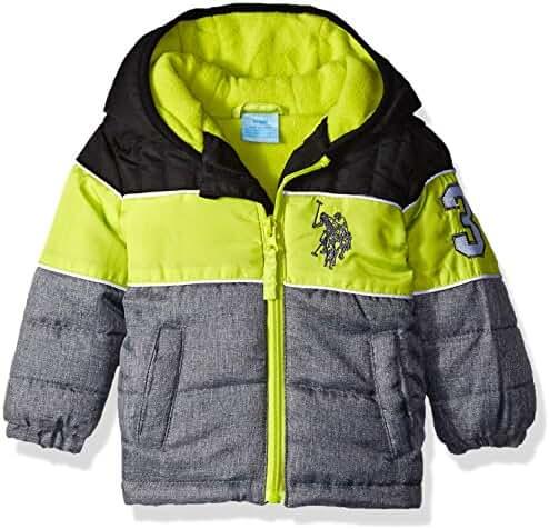 U.S. Polo Assn. Baby Boys' Heavyweight Bubble Jacket