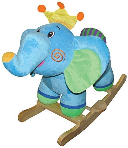 [Charm Company Ella Elephant Rocker Ride On, One Size, One Color] (Ride On Elephant Costume)