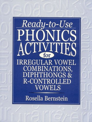 Ready-To-Use Phonics Activities for Irregular Vowel Combinations, Diphthongs & R-Controlled Vowels