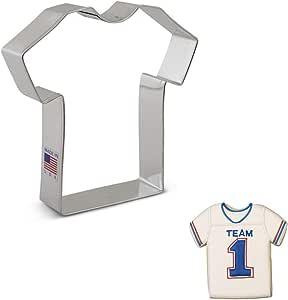 Ann Clark Cookie Cutters Cortador de galletas camiseta / camiseta deportiva / uniforme médico grande - 11,5 cm - Acero fabricado en EE. UU.: Amazon.es: Hogar