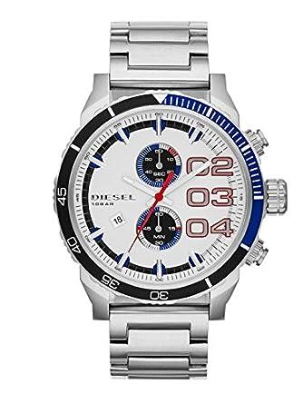 Diesel End of Season Chronograph White Dial Men's Watch - DZ4313
