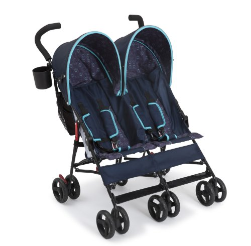 Delta Children LX Side by Side Stroller, Night Sky