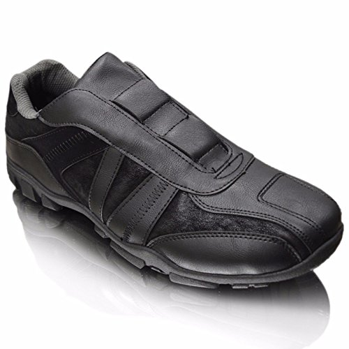 Xelay - Deck shoes hombre negro