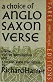 A Choice of Anglo-Saxon Verse, Hamer, Richard, 0571087655