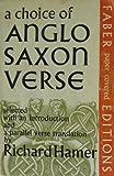 A Choice of Anglo-Saxon Verse, Hamer, Richard, 0571087655
