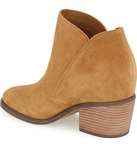 Simpson Honey Boot Women's Suede Brown Jessica Ankle Tandra Split TwPdCxqx