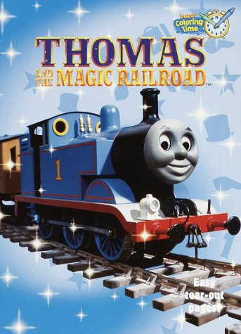 Thomas and the Magic Railroad Coloring Book (Super Coloring Time)