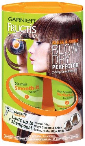 Garnier Fructis Style Sleek and Shine Blow Dry Perfector Kit (Garnier Fructis Flat Iron Perfector Natural Hair)