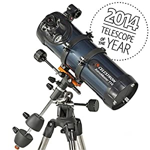 Celestron AstroMaster 114EQ Reflector Telescope Planetarium Tripod Software New