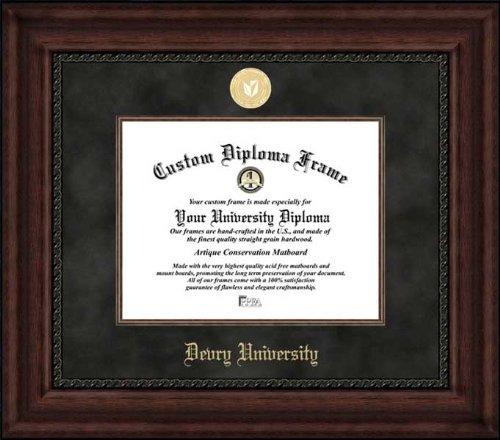 devry-university-gold-medallion-suede-mat-mahogany-diploma-frame