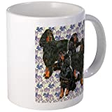 CafePress - Gordon Setters In The Garden Mugs - Unique Coffee Mug, Coffee Cup