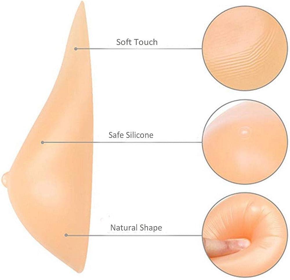 Megularlo Silicone Breast Forms Bra Enhancer Prosthesis One Piece MAS