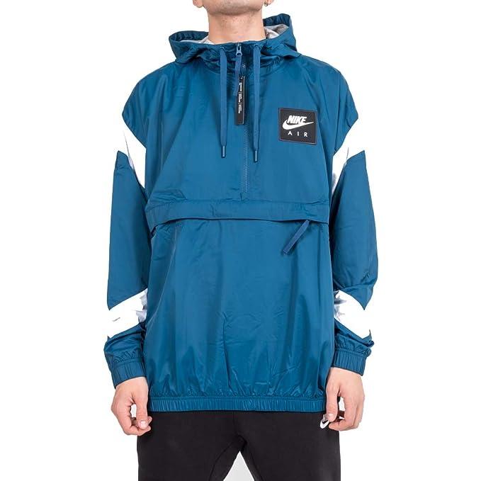 nuova collezione b22c1 4853c Nike M NSW AIR Jacket HD Giubbotto Uomo (L - 474 BLFRCE ...