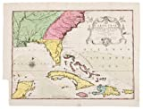 Map of South Eastern America