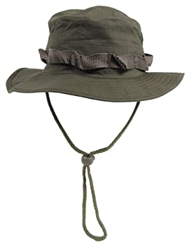 7d6ac7ee21cc5 US GI Ripstop Combat Boonie Bush Army Hat Olive Green SIZE S
