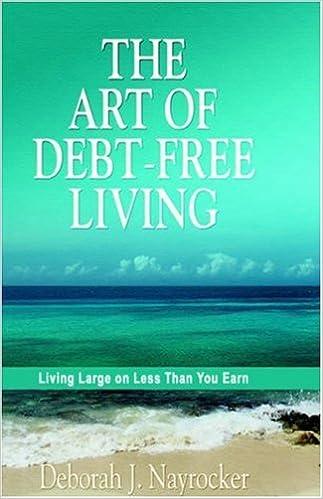 The Art of Debt-Free Living: Deborah J. Nayrocker: 9781414103464 ...