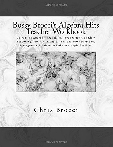 Counting Number worksheets graphing coordinates pictures worksheets : Amazon.com: Bossy Brocci's Algebra Hits Teacher Workbook: Solving ...
