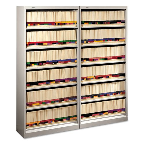 HON 626 Series End Tab Open File (Medical Chart Cabinet)