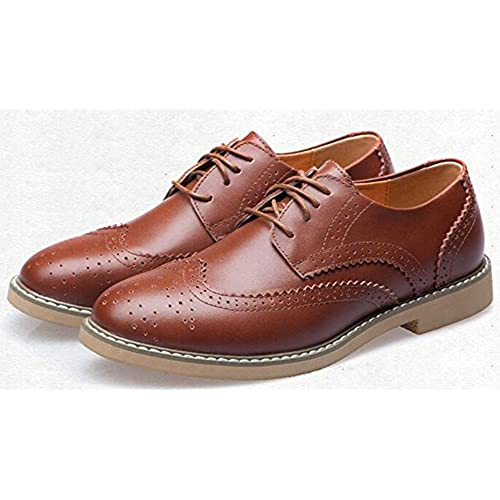 72c1d08dd 30%OFF IDIFU Men's Vintage Round Toe Low Top Lace Up Brogues Flat Drive  Oxfords