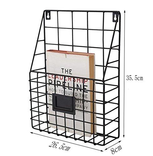 HQQ European Creative Metal Iron Rack de Revista   Estante ...