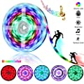 Dreamy Color LED Strip Lights - 16.4ft/5M Music Sync RGB LED Light Strip with RF Remote - Rainbow Color Chasing LED Tape Lights- Waterproof Flexible Strip Lights 5050SMD 150LED Rope Lights Full Kit