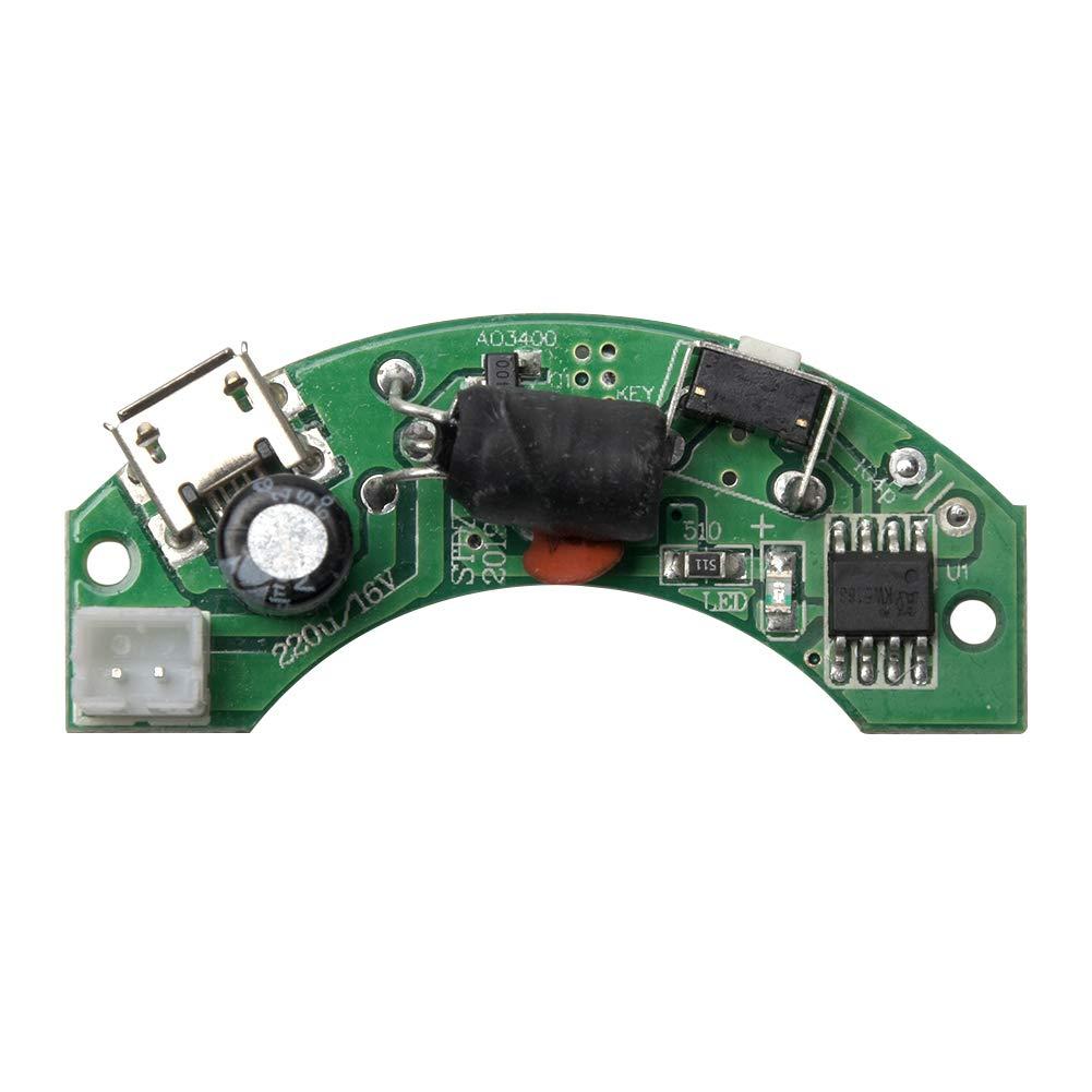 LNIMIKIY Humidificador Conductor Placa Accesorio Circuito Ultra Fino Reemplazo Baja Potencia F/ácil instalaci/ón Estable Resistente a la oxidaci/ón Electr/ónico Gran Aerosol B Ultras/ónico
