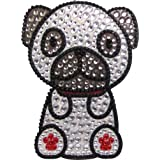 Love Your Breed Rhinestone Sticker, Pug