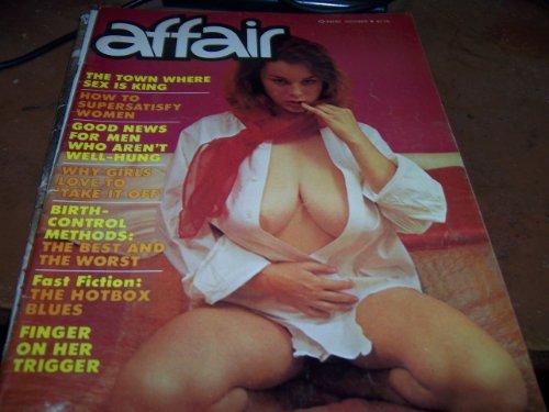 Affair Adult Magazine October 1977