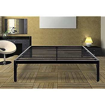 Amazon Com Olee Sleep 14inch Dura Metal Steel Slate Bed
