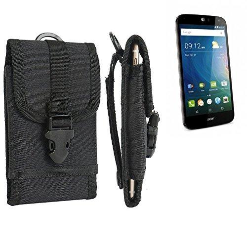 bolsa del cinturón / funda para ACER Liquid Z630, negro | caja del teléfono cubierta protectora bolso - K-S-Trade (TM)