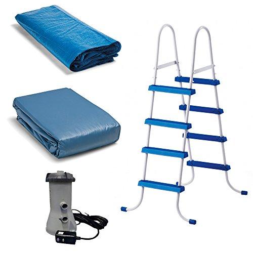 Intex Easy Set Pool Set, 15-Feet by 48-Inch, Blue by Intex (Image #4)