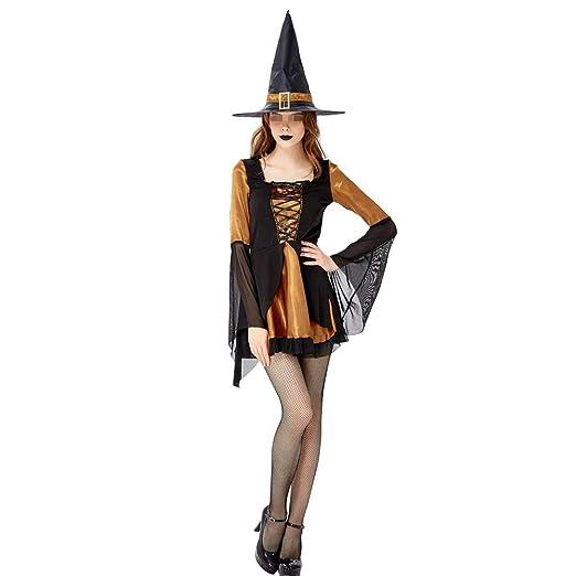 BGROEST-cloth Vestido de Dama de Halloween Traje de Bruja de ...