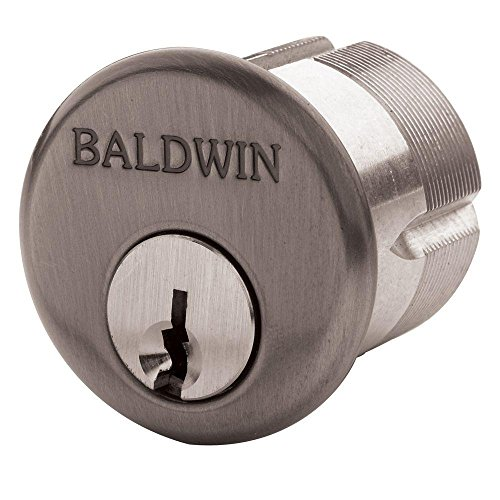Baldwin 8323.102 Oil-Rubbed Bronze Mortise Cylinder C Keyway,1-1/4