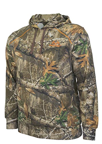Realtree Men's Cotton Pullover Hoodie (Large, Realtree) from Realtree