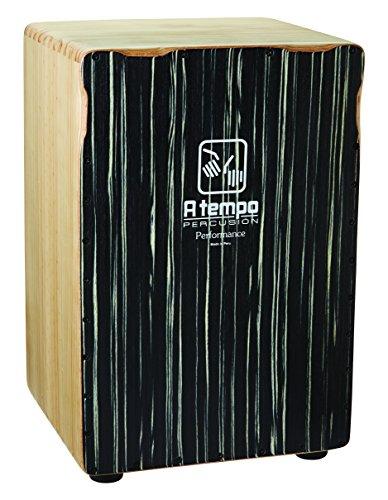 A Tempo Percussion Performance Series Cajon (Black Stripe) ()