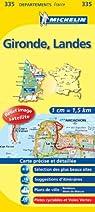 Carte DPARTEMENTS Gironde, Landes par Michelin
