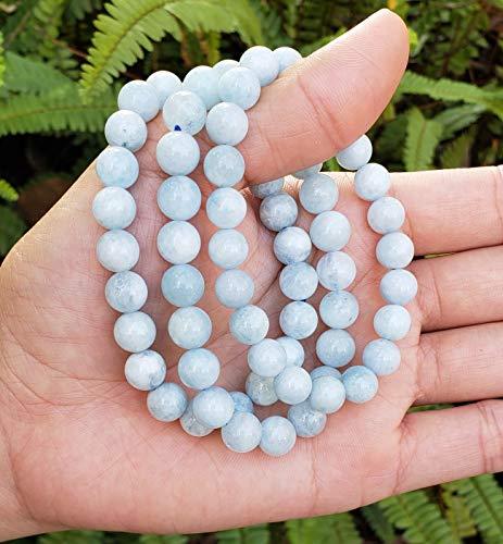 Adabele Natural Gemstone Bracelet 7 inch Stretchy Chakra Gems Stones Healing Crystal Quartz Women Men Girls Gifts (Unisex)