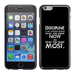 Ziland / Slim Design Case Cover Shel / Black Text Inspiring Message / Apple iPhone 5c