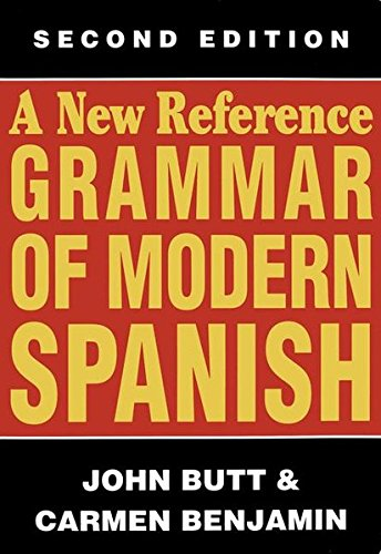Descargar Libro A New Reference Grammar Of Modern Spanish John Butt