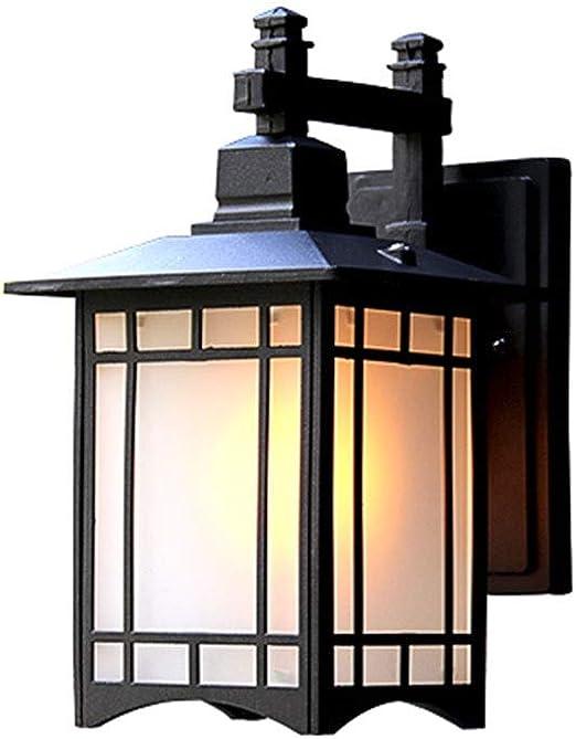 Lámpara de Lectura Luz de jardín Impermeable Nuevo Muro Exterior ...
