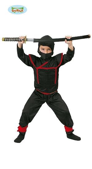 Guirca Rudy Traje de Shinobi, Ninja, Samurai, Color Negro ...