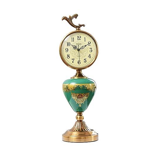 Relojes de chimenea FOOFAY Familiares Reloj de Mesa Vintage de ...